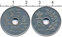 Изображение Дешевые монеты Дания 25 эре 1967