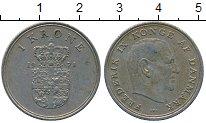 Изображение Дешевые монеты Дания 1 крона 1971