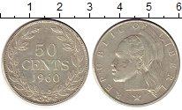 Изображение Монеты Либерия 50 центов 1960 Серебро XF