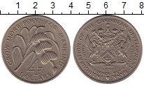 Изображение Монеты Ангилья 4 доллара 1970 Медно-никель UNC