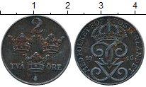 Изображение Дешевые монеты Швеция 2 эре 1946 Железо XF