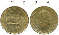 Изображение Дешевые монеты Италия 200 лир 1989 Латунь XF