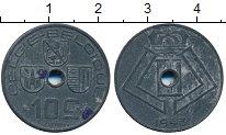 Изображение Дешевые монеты Бельгия 10 сентим 1943 Цинк XF-