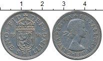 Изображение Дешевые монеты Великобритания 1 шиллинг 1956 Медно-никель XF
