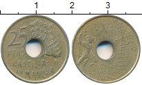 Изображение Дешевые монеты Испания 25 песет 1995 Латунь XF-