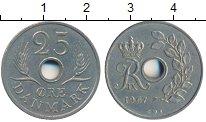 Изображение Дешевые монеты Дания 25 эре 1967 Медно-никель XF