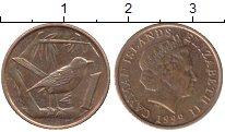 Изображение Дешевые монеты Каймановы острова 1 цент 1999 Медь XF-