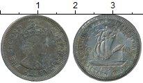 Изображение Дешевые монеты Карибы 10 центов 1965 Медно-никель VF