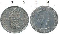 Изображение Дешевые монеты Великобритания 1 шиллинг 1964 Медно-никель XF