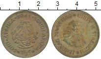 Изображение Дешевые монеты ЮАР 1/2 цента 1961 Латунь XF-