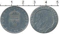 Изображение Дешевые монеты Швеция 1 крона 1991 Медно-никель XF-