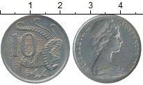 Изображение Дешевые монеты Австралия 10 центов 1975 Медно-никель XF-