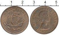 Изображение Дешевые монеты Великобритания 1/2 пенни 1963 Медь VF+