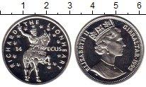 Изображение Монеты Великобритания Гибралтар 14 экю 1995 Серебро Proof-