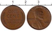 Изображение Монеты США 1 цент 1952 Бронза XF