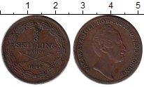 Монета Швеция 2/3 скиллинга Медь 1846 XF фото