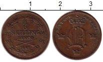 Изображение Монеты Швеция 1/6 скиллинга 1852 Медь XF