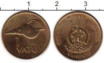 Изображение Монеты Вануату 1 вату 1999 Латунь UNC-