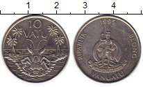 Изображение Монеты Вануату 10 вату 1995 Медно-никель UNC