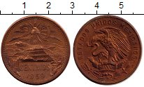 Изображение Монеты Мексика 20 сентаво 1959 Бронза VF