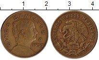 Изображение Монеты Мексика 5 сентаво 1957 Бронза VF