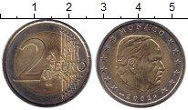 Изображение Монеты Монако 2 евро 2002 Биметалл UNC-