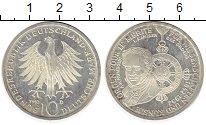 Изображение Монеты ФРГ 10 марок 1992 Серебро UNC-