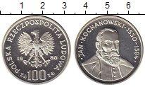 Изображение Монеты Польша 100 злотых 1980 Серебро Proof