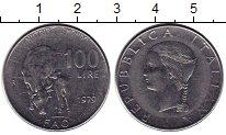 Изображение Монеты Италия 100 лир 1979 Сталь UNC-