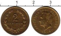 Изображение Монеты Сальвадор 2 сентаво 1974 Латунь XF