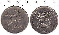 Изображение Монеты ЮАР 1 ранд 1983 Медно-никель XF-