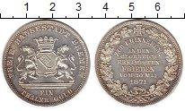 Изображение Монеты Германия Бремен 1 талер 1871 Серебро UNC-