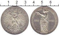 Изображение Монеты Франкфурт 1 талер 1862 Серебро UNC-