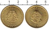 Изображение Монеты ЮАР 1/2 цента 1964 Латунь UNC-