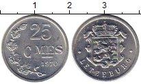 Изображение Монеты Люксембург 25 сантим 1970 Алюминий UNC-