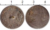 Изображение Монеты Австрия 3 крейцера 1737 Серебро F