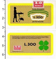 Изображение Банкноты Италия 300 лир 1977  UNC