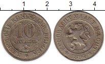Изображение Монеты Бельгия 10 сантим 1894 Медно-никель XF