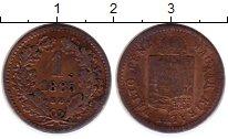 Изображение Монеты Венгрия 1 крейцер 1885 Медь VF