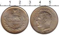 Изображение Монеты Иран 10 риалов 1969 Медно-никель UNC-