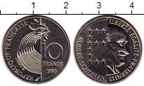 Изображение Монеты Франция 10 франков 1986 Медно-никель UNC-