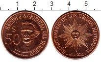 Изображение Монеты Уругвай 50 песо 2011 Бронза UNC
