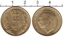 Изображение Монеты Люксембург 5 франков 1986 Латунь UNC-