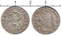 Изображение Монеты Польша 1 грош 1626 Серебро XF