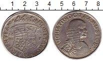 Изображение Монеты Германия Магдебург 2/3 талера 1672 Серебро XF