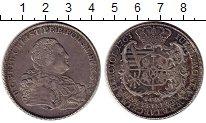 Изображение Монеты Германия Саксония 1 талер 1763 Серебро XF