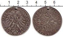 Изображение Монеты Бранденбург-Ансбах 1/2 гульдена 1573 Серебро VF
