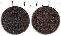 Изображение Монеты Италия Сицилия 1 грано 1700 Медь XF
