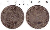 Изображение Монеты Сардиния 1/4 скудо 1781 Серебро XF-