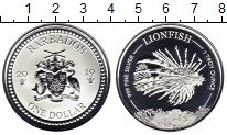 Изображение Мелочь Барбадос 1 доллар 2019 Серебро UNC